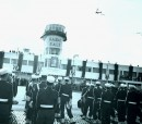 Airport Rabat-Salé - the return day from exile on 16 November 1956