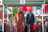 HM King Mohammed VI arrives in Dar es Salaam for an Official Visit to Tanzania
