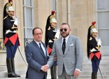 Elysee-French: Meeting Between HM King Mohammed VI, President François Hollande