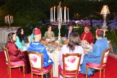 HM the King Offers Iftar in Honor of French President & His Spouse