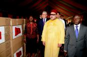 HM the King hands royal donation of medicines and medical-technical equipment to Guinea-Bissau's anti-AIDS secretariat