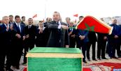 HM King Mohammed VI launches, in Moulay Rachid prefecture in Casablanca, urban integration projects of Lahraouiyine North and Sidi Ahmed Belahcen districts