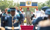 Official Welcome Ceremony in Accra for HM king Mohammed VI