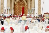 HM King Mohammed VI, Commander of the Faithful, chaires, at the Mechouar square of Tetouan Royal Palace, the allegiance ceremony in commemoration of the 17th anniversary of HM the King's enthronement