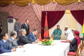 HM the King, Guinean Pres. Chair Signing Ceremony of Bilateral Cooperation Agreements