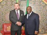 HM the King holds private meeting with Gabonese president