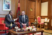 HM the King Holds, in Addis Ababa, Tête-à-tête Talks with Guinean President