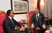 HM King Mohammed VI holds, in Addis Ababa, tête-à-tête talks with President of the Republic of Rwanda, Paul Kagame