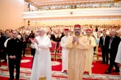 HM the King, Commander of the Faithful, and His Holiness Pope Francis Visit Mohammed VI Institute for the Training of Imams