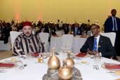 President of the Republic of Rwanda H.E. Paul Kagamé offers Official luncheon in honor of HM King Mohammed VI