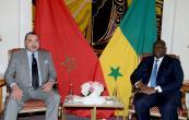 SM el Rey Mohammed VI se reúne a solas con el presidente senegalés