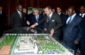 HM the King Launches Building Works of Training Center in Construction, Tourism in Abidjan
