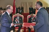 HM the King and Ivorian president chair in Abidjan ceremony to present Cocody Bay development and preservation project for 1.7 bln MAD