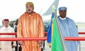 HM the King arrives in Gabon