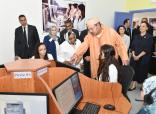 HM the King inaugurate a vocational training center