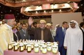 HM the King tours Morocco's pavilion at SIAL Exhibition