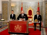 HM King Mohammed VI delivers a speech to the nation on the occasion of the eighteenth anniversary of Throne Day