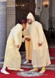 HM King Mohammed VI, Commander of the Faithful, receives the wishes of HRH Prince Moulay Rachid on the occasion of the Eid Al Adha