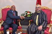 5th AU-EU Summit: HM King Mohammed VI receives in Abidjan President of the Republic of South Africa, H.E. Jacob Zuma