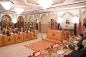 HM King Mohammed VI chairs at the royal palace in Casablanca a council of ministers
