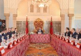 HM King Mohammed VI chairs, at Rabat royal palace, Council of ministers