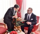 HM King Mohammed VI receives, at the Royal Palace in Rabat, the head of government, the interior minister and the economy minister