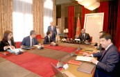 HM King Mohammed VI chairs in Rabat working session to review progress in renewable energy projects led by Masen