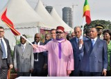 HM the King, Congolese Head of State Launch Construction works of Fishing Unloading Site in Brazzaville