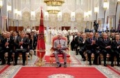 HM King Mohammed VI chairs at Rabat's Royal Palace the presentation ceremony of the upgrading programs of the old medinas of Rabat and Marrakech and the complementary program for the upgrading of the old medina of Fez