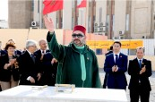 HM King Mohammed VI launches the building works of a complex for artistic and cultural activities in Sale