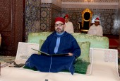 HM King Mohammed VI, Commander of the Faithful, Chairs in Rabat First Religious Lecture of Ramadan