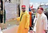 HM King Mohammed VI, Commander of the Faithful, Inaugurates in Casablanca Palestine Mosque, Performs Friday Prayer at this Mosque