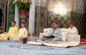 HM King Mohammed VI, Commander of the Faithful, chairs at Casablanca royal palace the fourth religious lecture of the holy month of Ramadan