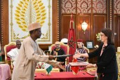 HM King Mohammed VI and President of the Federal Republic of Nigeria, H.E. Muhammadu Buhari, chair at the Rabat Royal Palace the signing ceremony of three cooperation agreements