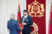 HM King Mohammed VI Receives in Al Hoceima Bank Al Maghrib Governor,Abdellatif Jouahri