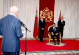 HM King Mohammed VI Receives in Al Hoceima Audit Court President, Driss Jettou