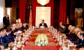 HM King Mohammed VI chairs at Rabat Royal Palace a Council of ministers