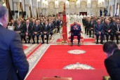 HM King Mohammed VI chairs at Rabat royal palace the ceremony to launch the 3rd phase of the newly-engineered National Initiative for Human Development INDH(2019-2023)