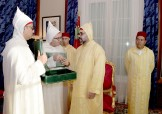 HM King Mohammed VI receives, in Rabat, the speaker of the house of advisors Abdelhakim Benchamach