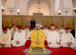 HM King Mohammed VI, Commander of the Faithful, Performs Friday Prayer at Koutoubia Mosque in Marrakech