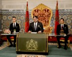 HM King Mohammed VI delivers a speech to the Nation on the occasion of the 43rd anniversary of the Green March