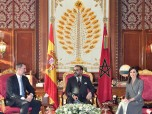 HM King Mohammed VI holds talks, at the Royal Palace in Rabat, with HM King Felipe VI of Spain