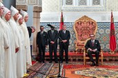 HM King Mohammed VI receives at the Royal Palace in Rabat the new walis and governors appointed at the territorial and central administrations
