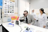 HM King Mohammed VI inaugurates radiology and medical analysis Center National Police at the Ryad neighborhood in Rabat