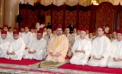 HM King Mohammed VI, Commander of the Faithful, performs Friday prayer at the Hassan II mosque in Casablanca