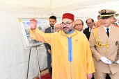 "HM King Mohammed VI launches the building works of the ""Community Medical Center-Mohammed V Foundation for Solidarity"" in Sale"