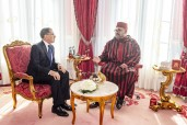 HM King Mohammed VI receives, at the Royal Palace in Rabat, Head of Government, Saad Dine El Otmani