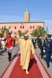 HM King Mohammed VI, Commander of the Faithful, Performs Friday Prayer at Ariha Mosque in Marrakech