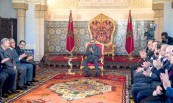 HM King Mohammed VI presides, at the Royal Palace in Rabat, over the ceremony of presentation of the integrated program to support and finance enterprises and the signature of related agreements