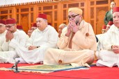 HM King Mohammed VI, Commander of the Faithful, performs Friday prayer at Khalid Ibn Al Walid Mosque in Agadir